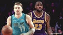 Mavericks' Luka Doncic matches LeBron James with most recent statistical feat