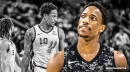 DeMar DeRozan thinks he needs to 'take some acting classes' after no-calls in Spurs' loss to Blazers