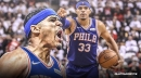 Sixers' Tobias Harris' 85.7-percent field goals vs. Cavs was highest in franchise since 2009