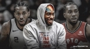 Photo: Clippers' Kawhi Leonard references Spurs, Raptors stint with custom 'Two-time champs' sweatshirt