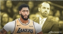 Lakers' Anthony Davis 'not worried' about lower touches but Frank Vogel looks to get him more involved