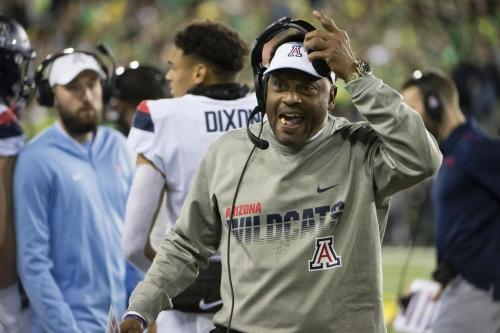 Kevin Sumlin discusses Arizona's defense, Utah's offense and J.J. Taylor being a face mask no-call magnet in his weekly presser