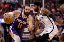 Phoenix Suns starting point guard Ricky Rubio doubtful with back spasms vs. Celtics