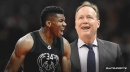 Bucks' Giannis Antetokounmpo, Mike Budenholzer frustrated with officiating