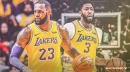 Lakers star LeBron James is passing to Anthony Davis more than any previous teammate