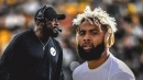 Browns' Odell Beckham Jr. reveals what he told Mike Tomlin during Steelers game