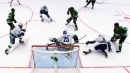Jamie Benn uses incredible patience & skill to score on Canucks