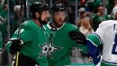 Benn scores twice, Stars beat Canucks for fourth straight win