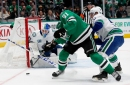 Stars rout reeling Canucks for 4th straight win