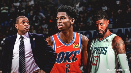 Clippers' Doc Rivers, Paul George hype up Thunder's Shai Gilgeous-Alexander as a 'future star'