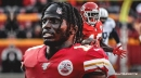 Chiefs WR Tyreek Hill's hamstring injury is deemed as being minor