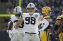Rookie Raiders edge rusher awarded AFC Defensive Player of the Week for four sacks, forced fumble