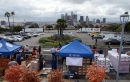Joc Pederson, Kyle Garlick Assisting Los Angeles Dodgers Foundation With 15th Annual Turkey Giveaway At Dodger Stadium