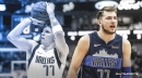 Mavs' Luka Doncic finishes first quarter with more points, rebounds, assists than entire Warriors team