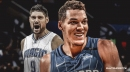 Magic stars Aaron Gordon, Nikola Vucevic X-rays came out negative but both in crutches