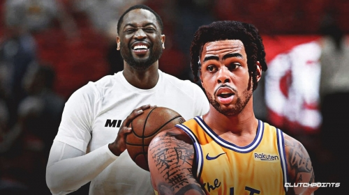 D'Angelo Russell officially becomes new face of Dwyane Wade's 'Way of Wade' brand
