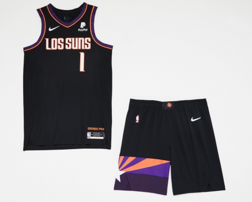 Phoenix Suns to wear black 'Los Suns' uniforms several times this season, report says