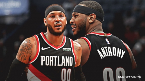 Carmelo Anthony worked on pick-and-pop, pick-and-roll defense prior to Blazers debut