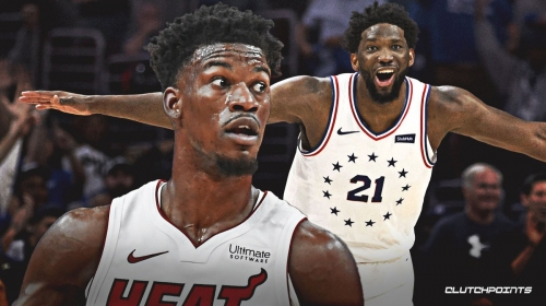 Jimmy Butler on Joel Embiid: 'That muthaf***a' is special'