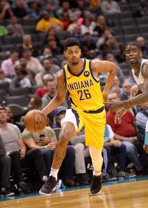 Jeremy Lamb is impressed with the Pacers' depth so far this season
