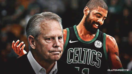 Danny Ainge doesn't want fans to boo Kyrie Irving when he returns to Boston