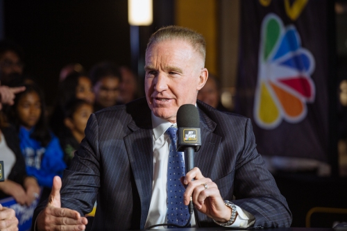 Warriors on TV: Chris Mullin embraces his new role as analyst