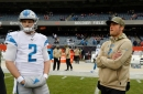 Detroit Lions football QB Matthew Stafford ruled out for Washington game, but will travel