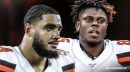 Browns' Olivier Vernon, David Njoku won't play against the Dolphins