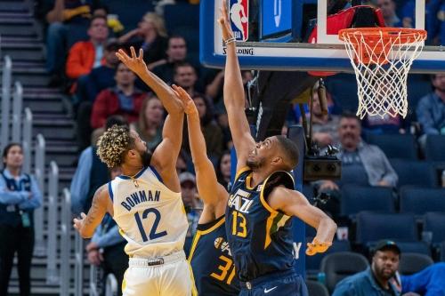 Can the Warriors skeleton crew shock the Utah Jazz tonight?