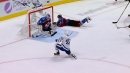 Maple Leafs' Barrie scores against former team with sweet goal