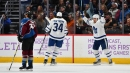 Barrie, Matthews score as Maple Leafs hold on to beat Avalanche