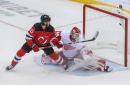 Devils Strike, Score Five Unanswered in Rout of Red Wings