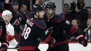 Teravainen's three-point night lifts Hurricanes over Panthers