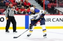 St. Louis Blues Robert Bortuzzo Suspended