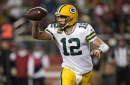 Packers' Aaron Rodgers tricks Nick Bosa, but 49ers rookie gets last laugh