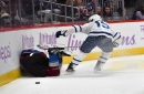 Leafs forward Alexander Kerfoot suspended 2 games for hit on Avalanche's Erik Johnson