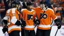Canucks fall to Flyers after Voracek's third period goal