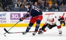 Blue Jackets halt Senators winning streak at 4 with shutout victory