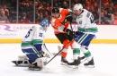 Jakub Voracek delivers in final frame to lift Flyers over Canucks