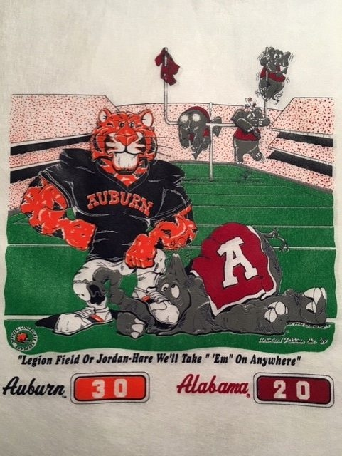 1989 Iron Bowl Will Forever be One of the Top Events of a Lifetime