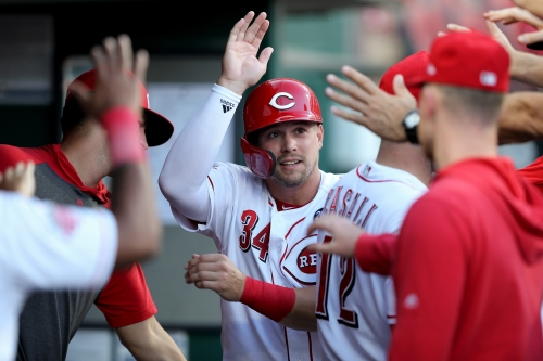 Cincinnati Reds trade outfielder Brian O'Grady to Tampa Bay Rays
