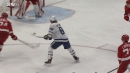 Nylander bats puck out of the air twice to score sweet goal