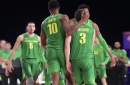 Ducks weather storm in 71-69 comeback victory over No. 13 Seton Hall