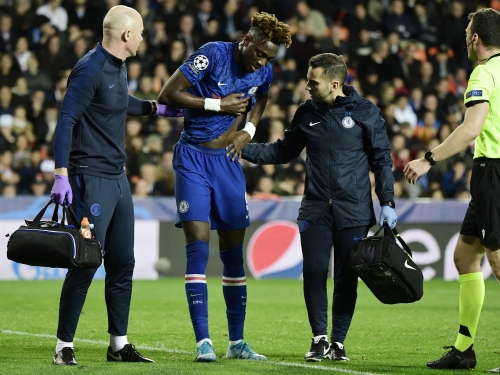 Valencia vs Chelsea: Tammy Abraham hopeful hip injury is not serious