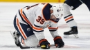 Oilers' Chiasson in concussion protocol after hit by Avalanche's Graves