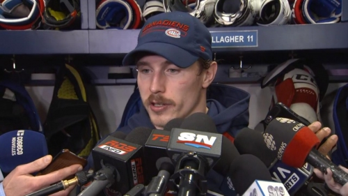 Brendan Gallagher says Canadiens must take action to fix mental mistakes