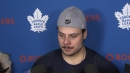 Auston Matthews hoping to beat Sabres in second half of back-to-back