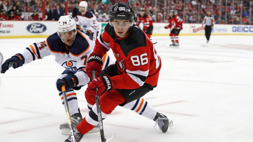 Devils' Jack Hughes to miss game vs. Rangers with lower-body injury