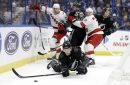Reimer Makes 36 Saves, Hurricanes Beat Lightning 3-2