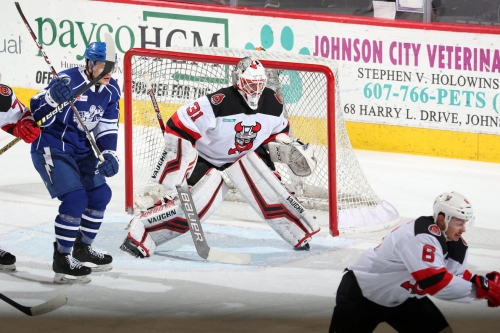 Binghamton Devils Loss Gift Wrapped to Syracuse Crunch in OT